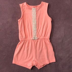 🔥4/20! Carters peach romper
